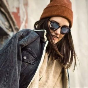 Madewell Rust+Recycled Beanie+Soft knit+Dried Cedar is back!